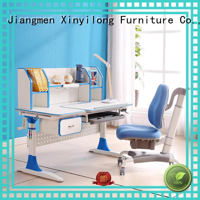 furniture storage adjusting Xinyilong Furniture Brand study table furniture design factory