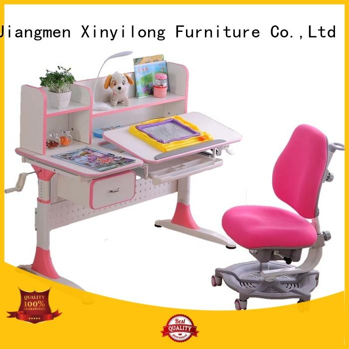 Height Adjustable Children's Workstation, Grows with Kid's Study Desk and Activity Table at Home