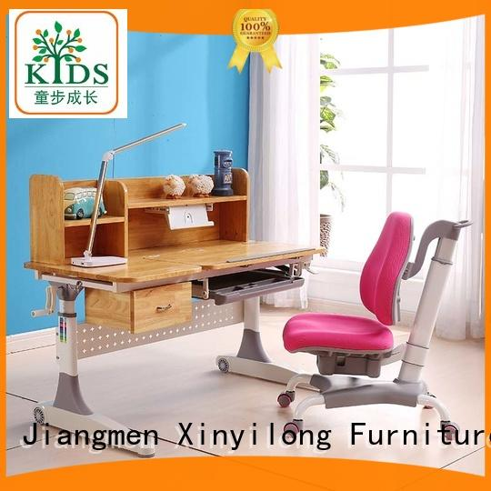 Xinyilong Furniture comfortable adjustable height children's desk high quality for children