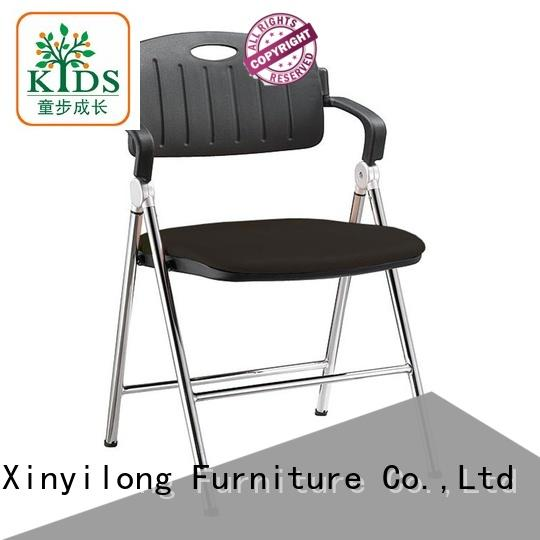 Xinyilong Furniture stackable chair with wheel for college