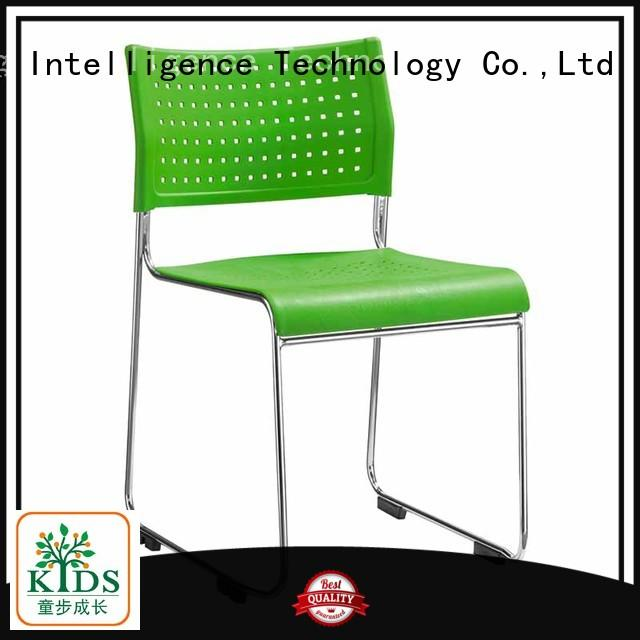 TBCZ stackable chair with wheel for classroom