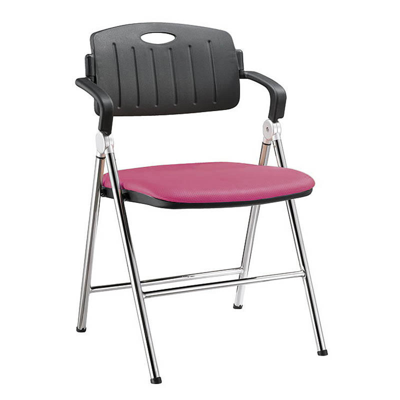 stable dinning chair with wheel for lecture-2