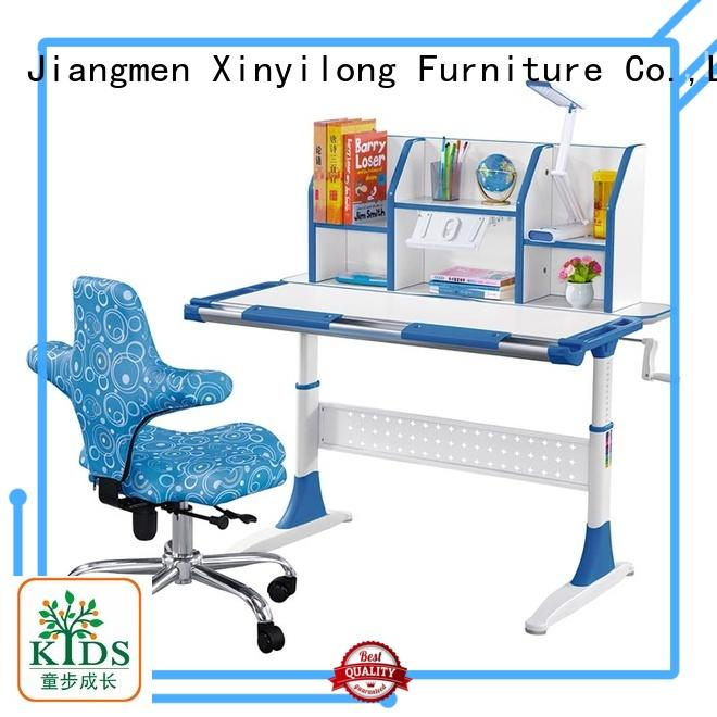 Xinyilong Furniture student desk adjustable height high quality for children