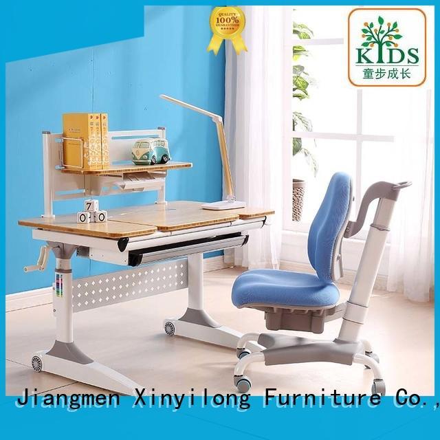Xinyilong Furniture chair adjustable height children's desk manufacturer for children