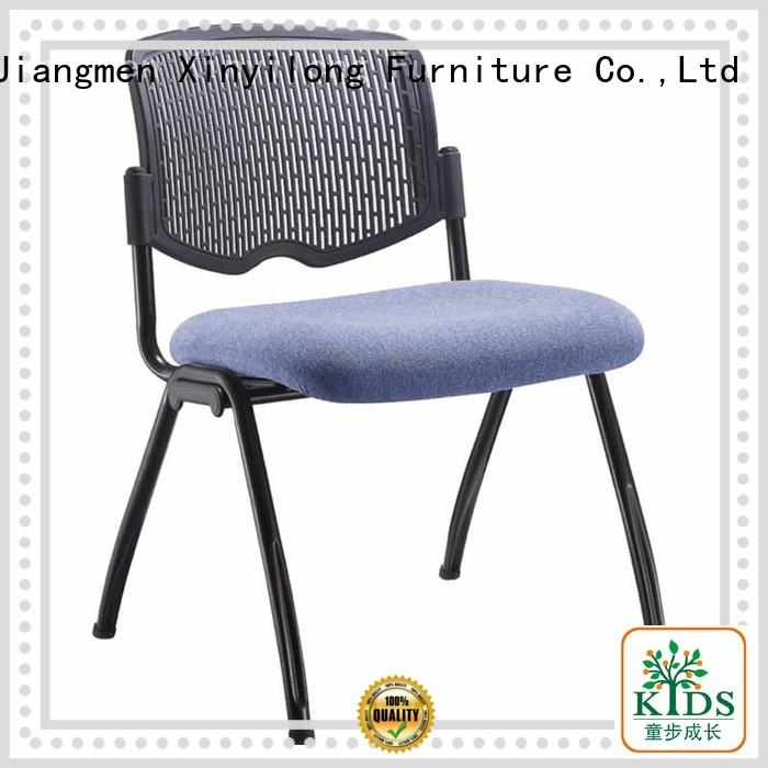 Xinyilong Furniture comfortable foldable chair with wheel for lecture
