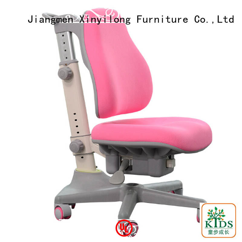 durable height adjustable kids chairs with wheel for kids