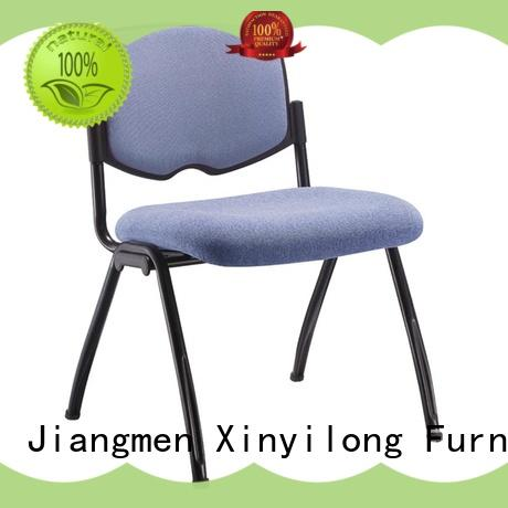 comfortable black folding chairs wholesale for lecture Xinyilong Furniture