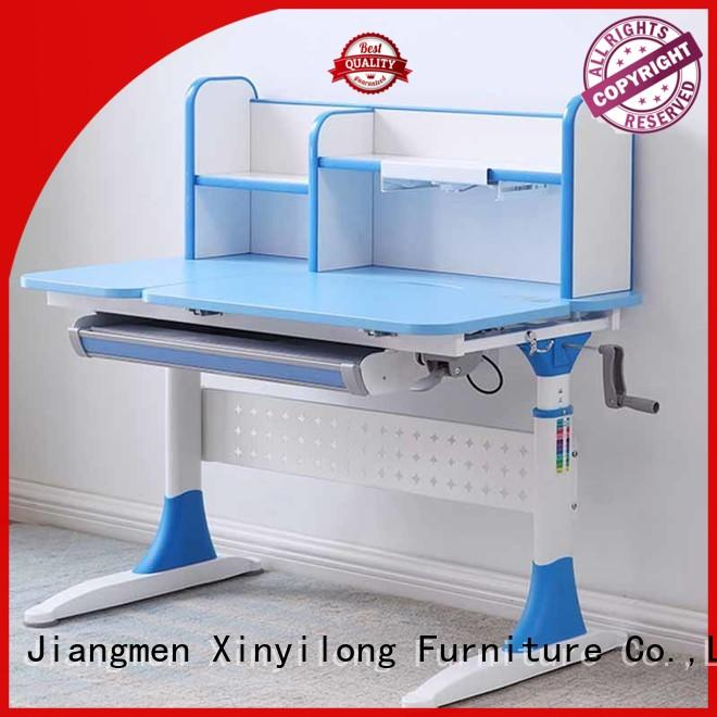 children top mdf Xinyilong Furniture Brand study table and chair
