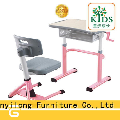 Xinyilong Furniture comfortable classroom table and chair height adjustable for classroom