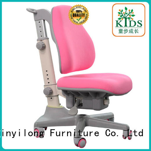 Xinyilong Furniture durable study chair for students with wheel for kids