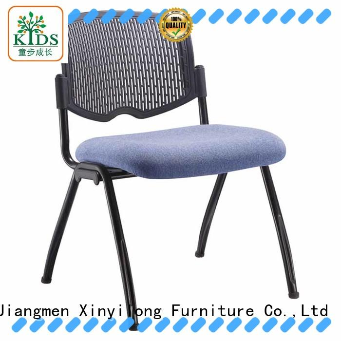 Xinyilong Furniture foldable plastic chair with wheel for students