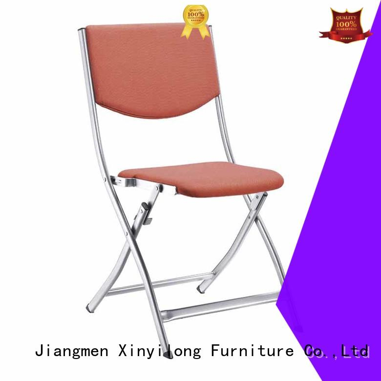 foldable plastic stack chair airvent for lecture Xinyilong Furniture