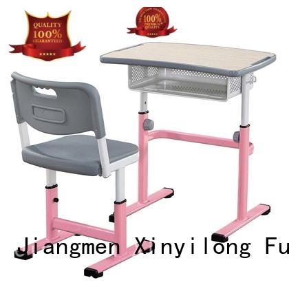 childrens school desk and chair set front steel classroom Warranty Xinyilong Furniture