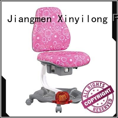 Popular height adjustable ergonomic children study table and chair set XYL-341