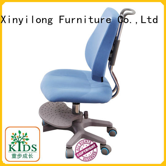 Xinyilong Furniture durable student chair with wheel for studry room