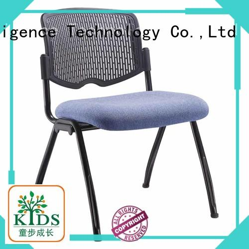 foldable training room chair with wheel for lecture