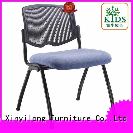 Xinyilong Furniture foldable plastic dining chairs high quality for students