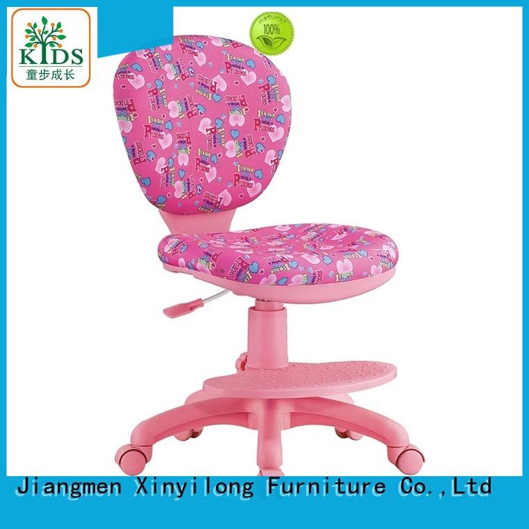 Xinyilong Furniture best study chair for students with wheel for kids