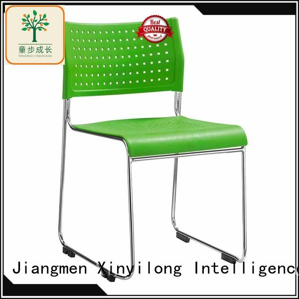 foldable dinning chair with wheel for lecture