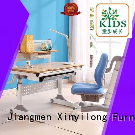 kids study table and chair home workstation Xinyilong Furniture company