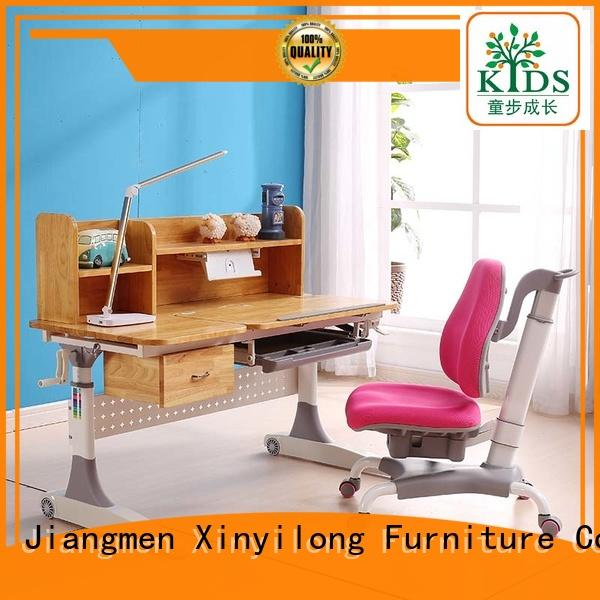 Xinyilong Furniture study table design with storage for kids
