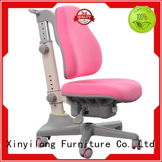 Xinyilong Furniture stable home study chairs with wheel for children