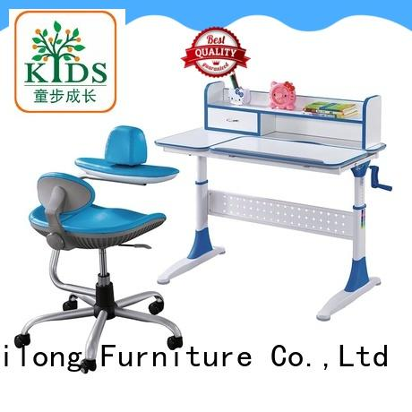 study table design with storage for school Xinyilong Furniture