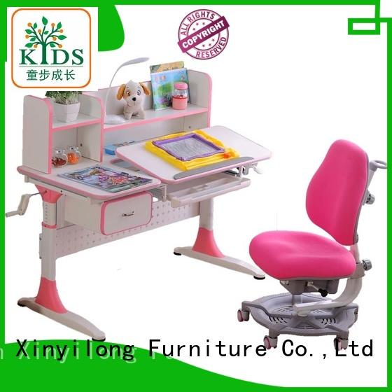 Xinyilong Furniture wooden study table with storage for school
