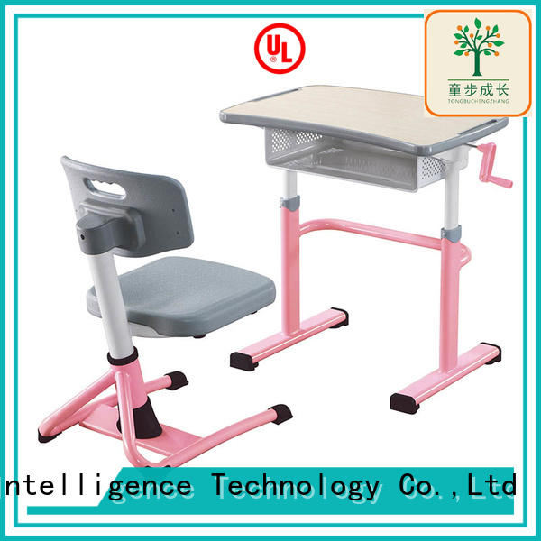 comfortable classroom tables and chairs height adjustable for students