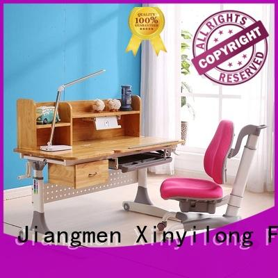 Hot study table and chair reading Xinyilong Furniture Brand