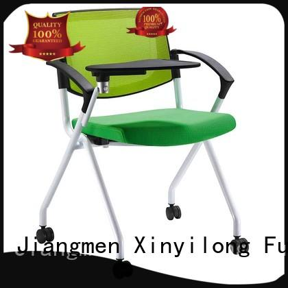 stackable triple tablet Xinyilong Furniture Brand foldable chairs for sale supplier
