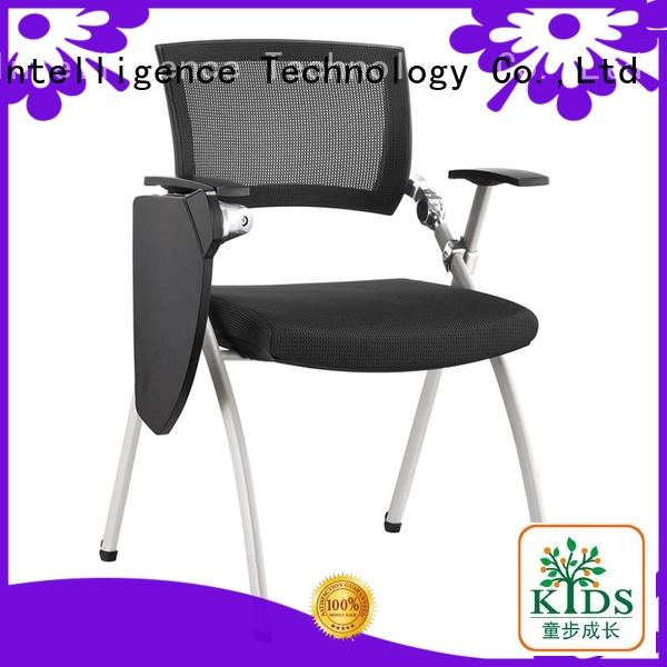 foldable training chair with wheel for college
