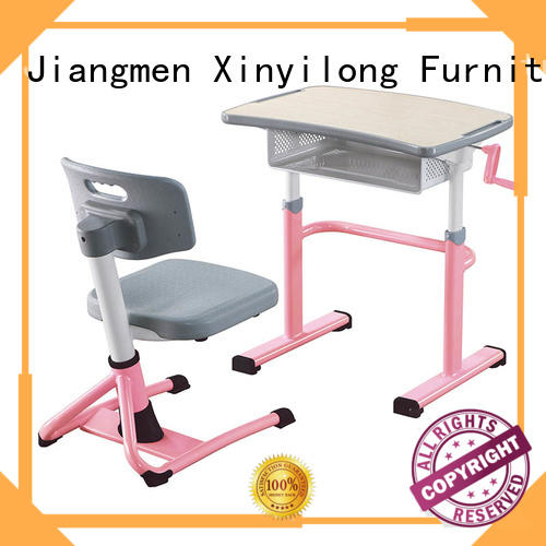 Xinyilong Furniture professional chair and table set for college for sale for classroom
