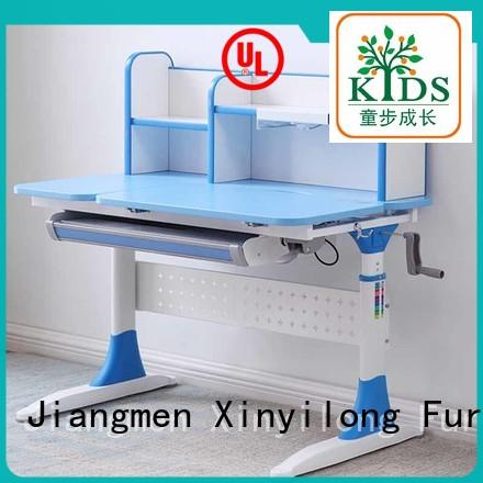 comfortable student desk adjustable height high quality for children