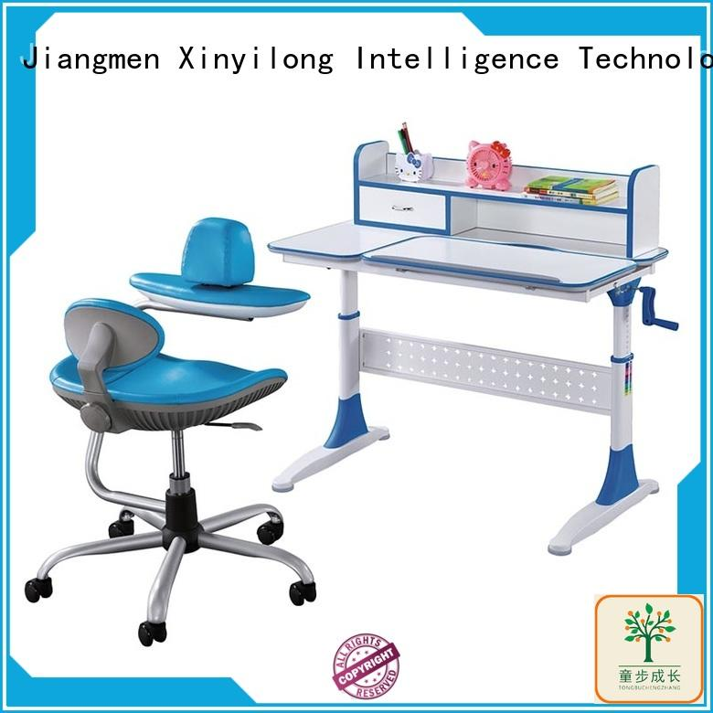 healthy large desk with storage for children