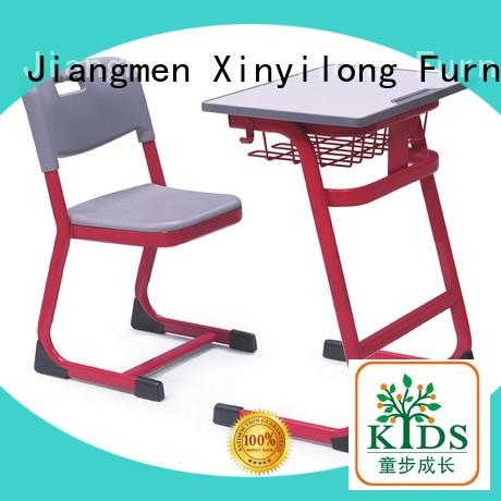 Xinyilong Furniture kids desk and chair set height adjustable for students