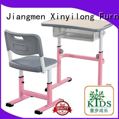 Xinyilong Furniture foldable classroom table and chair for sale for college