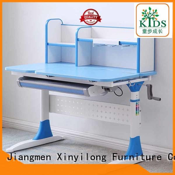 Xinyilong Furniture table and chair set with storage for school