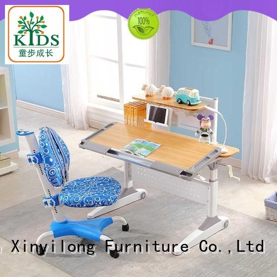 Xinyilong Furniture healthy children study table with storage for children