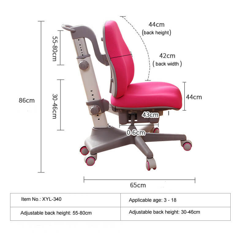 Xinyilong Furniture modren kids study chair high quality for studry room-1