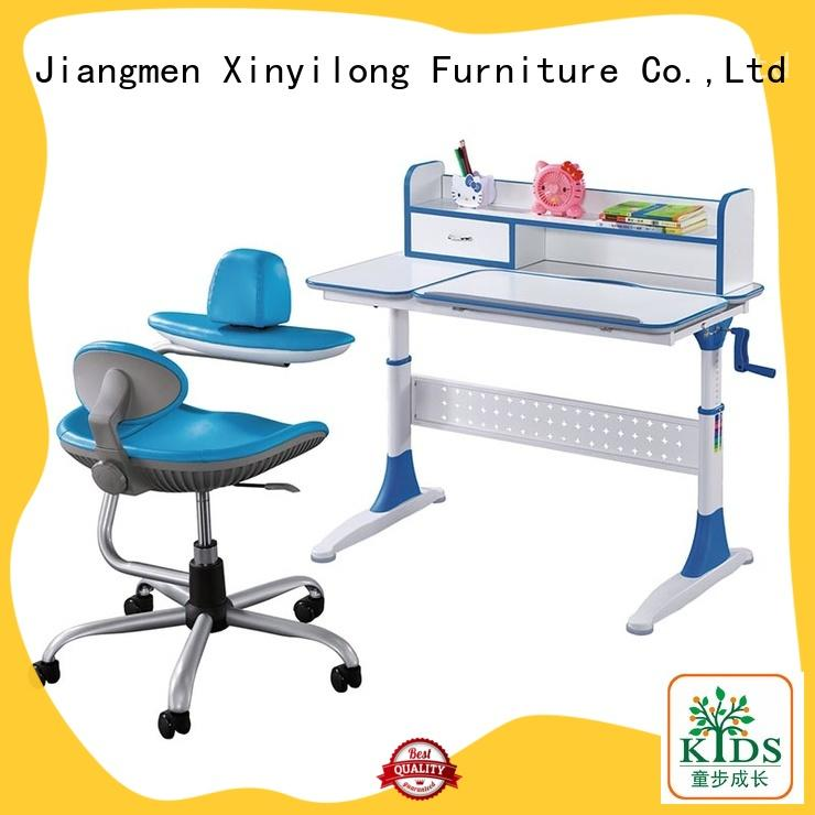 Xinyilong Furniture popular student desk adjustable height for sale for children