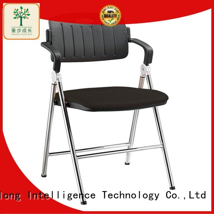 TBCZ practical foldable chair with wheel for students