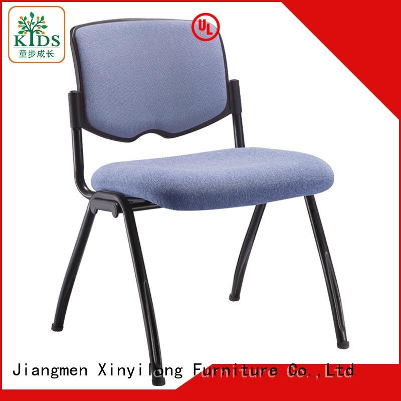 Xinyilong Furniture plastic dining chairs with wheel for lecture