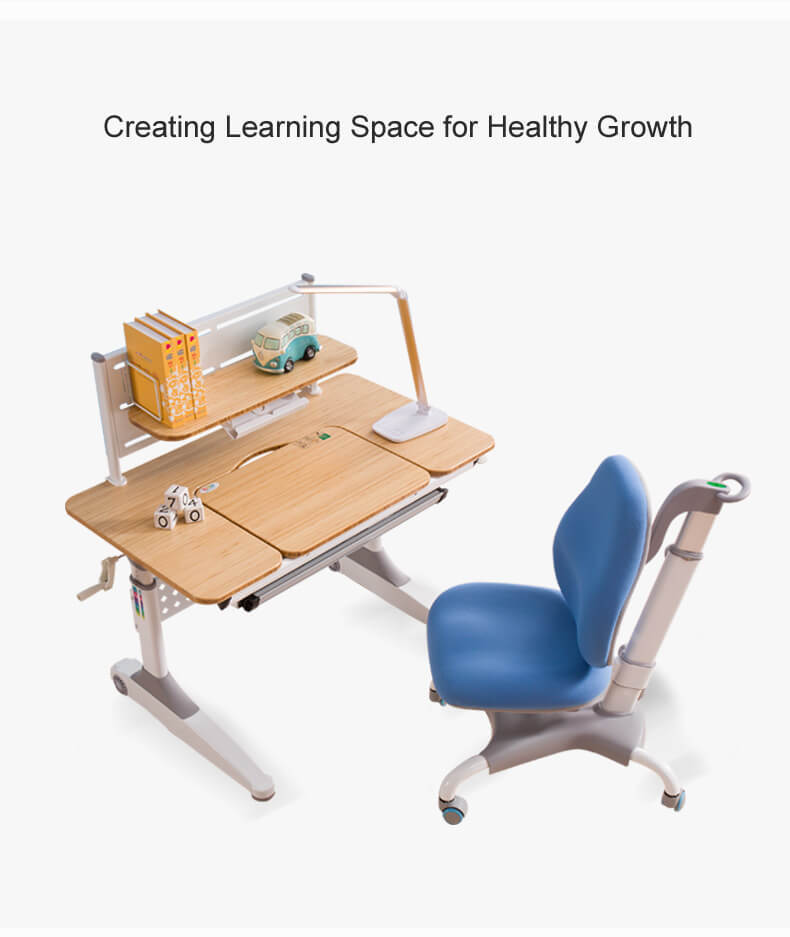 healthy large desk with storage for school-2