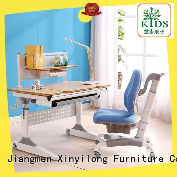 Xinyilong Furniture table and chair set with storage for kids