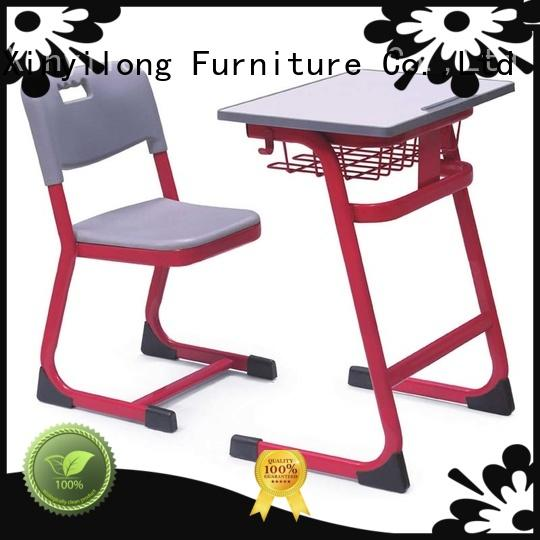education children childrens school desk and chair set Xinyilong Furniture Brand